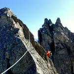 Photo: Stefan Joller / Climber: Jonas / Location: Trotzigplanggstock, Urner Alpen