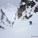 Photo:  Stefan Joller / Skier: Patrick / Location: Evolène, Switzerland