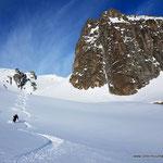 Photo:  Stefan Joller / Skier: Christer / Location: Val Gronda, Disentis, Switzerland