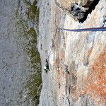 Climber: Philipp / Photo: Stefan Joller / Location: Südpfeiler am Chli Glatten, Klausenpass