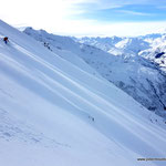 Photo:  Stefan Joller / Skier: Philipp / Location: Rossbodenstock Andermatt, Switzerland