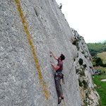 Photo:  Stefan Joller / Climber: unknown / Location: Mouriès, Provence, France