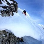 Photo: Stefan Joller / Skier: Patrick / Location: Grimentz, Val d'Anniviers