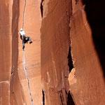 Photo: unknown climber / Climber: Stefan Joller / Location: Indian Creek, Utah