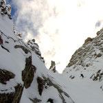 Photo: Stefan Joller / Skier: Roman / Location: Canalone del Dito, Passo del Tonale, Italy