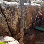 Photo:  Andrea / Climber: Stefan Joller / Location: Albarracin, Spain
