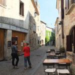 Rue Puysseguin près de la créperie l'Echoppe