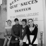 Les dames des Quat'sos à La Réole
