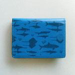 サメとエイと影 カードケース