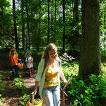 Erlebnistour im Wald