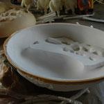 石膏 メス型