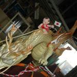 龍と子供は 日本むかし話をモチーフにしました