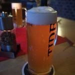 "Im Februar gings zum Vareler Brauhaus in den Vareler Hafen. Dort wird leckeres ""Tide""-Bier serviert."