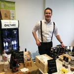 Auf der Regionalmesse in Oldenburg gab es auch ein Wiedersehen mit Biersommelier Timo Schwindt von Crown Craft Culture