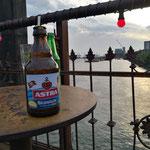 Astra bei Strand Pauli