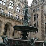 Kurztrip nach Hamburg im März und Besichtigung des Rathauses