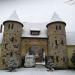 Weihnachten auf Gut Falkenhardt in Diepholz am 3. Adventssonntag mit Schnee