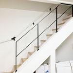 シングルタイプがこの階段には合います!