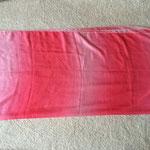 Rechteckschleier Batik, ca 245 x 110 cm, 16 €