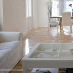 Oberflachenstruktur: Millennium, Farbe: Honig, Kantenbearbeitung: gerundet, Format: Qudarat 40x40cm
