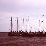 Hans von Wilster, Treffen von Gaffelschiffen, Ende der 80er Jahre, Hans voch ohne Mast