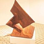 """""""Mosel"""" Haptikos, Arbeit Nr. 14-2014, L 120 cm x H 140 cm x B 130 cm, Stahl"""