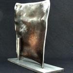 Nr. 9-2011, L 500mm, B 30mm, H 500mm, Stahlrohr, auf Plinthe