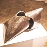 """""""Haptikos"""" Arbeit Nr. 11-2014, L 80 cm x H 55 cm , B 48 cm, Stahl"""