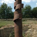 22,5° - Nr. 8/2013 L 50cm, H 300 cm, B 40 cm Stahlrohr AUD Stahlscheibenplinthe
