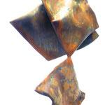 Nr. 03-2013, H 800mm L 400 mm B 400mm, Stahlrohre auf Stahlplinthe