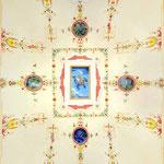 Soffitto a volta decorato con grottesche - Reggio Emilia