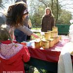 Imkerin Agnes Janning informierte über Bienen