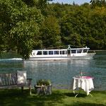 Direkt am Rhein