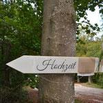 Weg zur Hochzeit