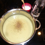 mit salz, pfeffer und eventuell honig abschmecken