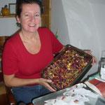 beim abfüllen des rosentees