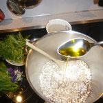 olivenöl dazu