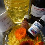 weitere zutaten: propolis und rosenöl, bienenwachs, öl