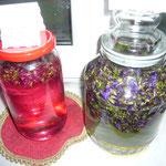 salbeiblütensirup und salbeiblütentinktur