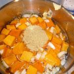 kräutersalz, suppenwürze und ingwer dazu geben