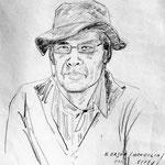 in der Mongolei von einem alten Kunstprofessor
