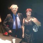 Bernard Pivot et Eve Zibelyne