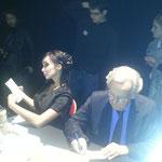 Katsuni et Bernard Pivot, un duo de choc et de charme