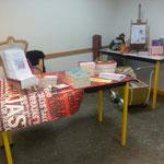 8 mars 2013 Journée internationale des femmes Centre de vie du Sanitas à Tours Dédicace