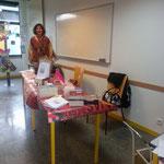 8 mars 2013 Journée internationale des femmes Centre de vie du Sanitas à Tours Sylvie Pouliquen