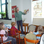 Julia Drinnenberg Ausstellung 'Wie entsteht ein Kinderbuch'