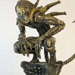 Alien statue résine 1:6 - Custom Kosept