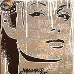 Sans titre - (Toile format 20x20) - Acrylique - Malagarty