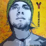 Génération Y - (Toile format 100x81) - Acrylique - Malagarty