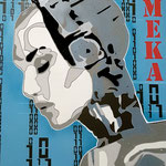 MEKA - (Toile format 116 x 89) - Acrylique  - Malagarty